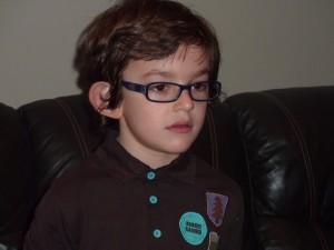 Garçon atteint du syndrome X-Fragile