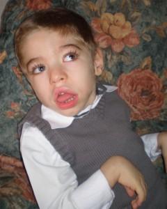 Dylan est atteint du syndrome de west