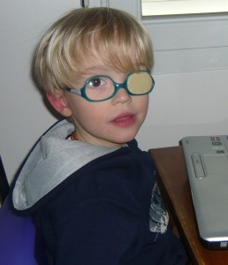 Enfant ayant le syndrome d'Asperger