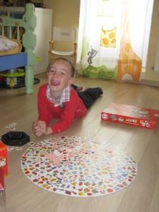 Enfant touché par un syndrome dysexécutif
