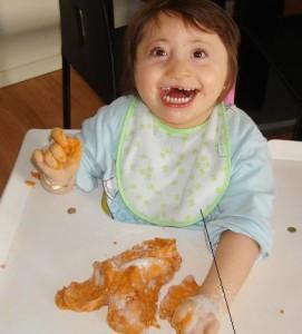 Tiphen est une petite fille handicapée