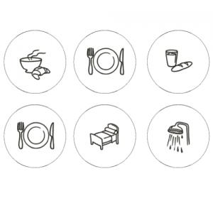 Lot de 10 pictogrammes à personnaliser