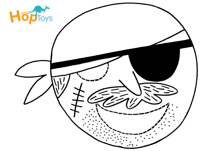 Le masque de pirate Hop'Toys