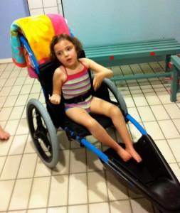 Handicap et piscine