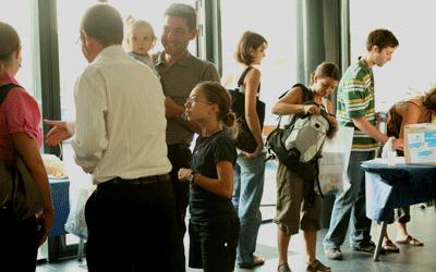 Accueil des invités et présentation des différents ateliers