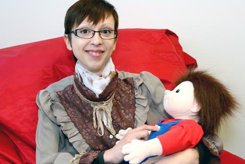 La poupée Johan et Alice