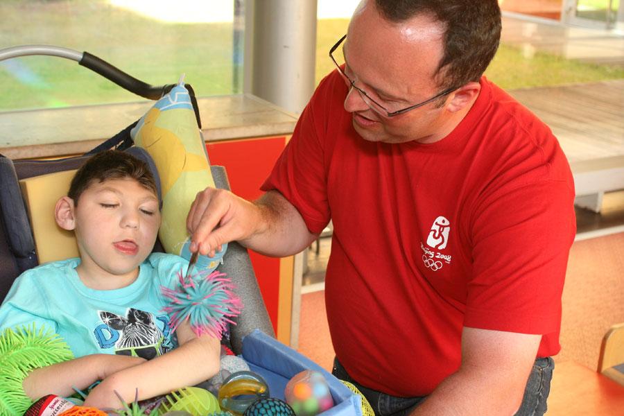 Handicap et fête des pères