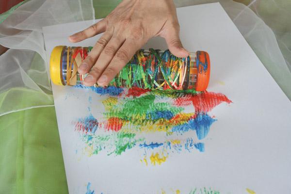 Peindre en s'amusant