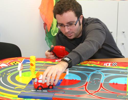 Le circuit voiture adapté