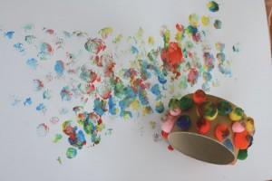 Apprendre à peindre pour un enfant handicapé
