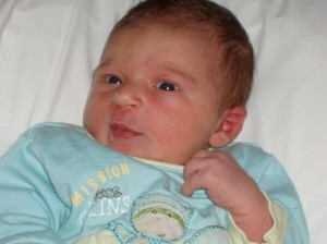 Lou à la naissance