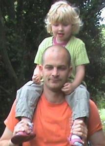 Lou et son papa
