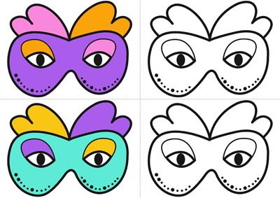 Retrouver les paires de masques