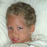 Matteo est un jeune garçon handicapé