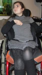 Mélanie est atteinte du syndrome de Rett