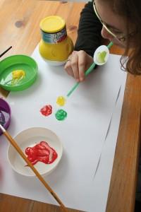 Souffle et peinture