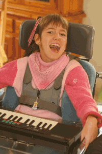 Morgane aime jouer du piano