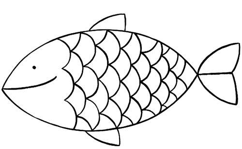Colorier des poissons d'avril