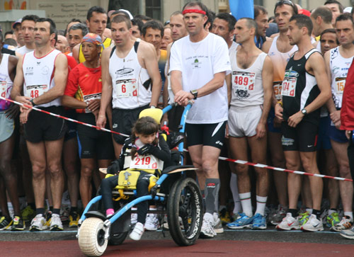 Course à pied et handicap