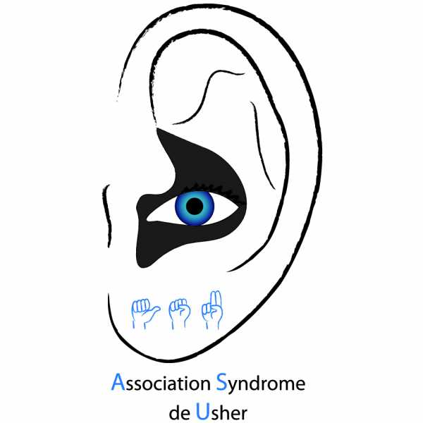 Logo de l'association syndrome de Usher