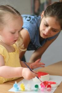 La peinture pour enfants vendue chez Hop'Toys