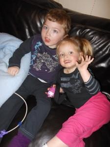 Alex et sa petite soeur Théa