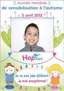 L'affiche Hop'Toys de Matthias