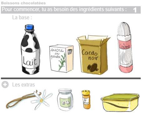 Boissons chocolatées 1