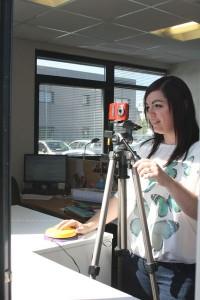 Handicap et appareil photo numérique