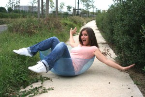 Emilie se divierte con la rocking bowl
