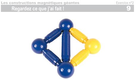 Les constructions magnétiques géantes - Exercice 2 - 10
