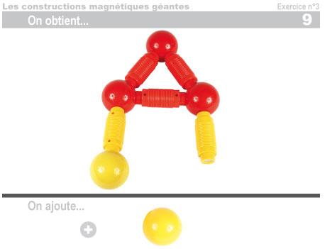 Les constructions magnétiques géantes - Exercice 3 - 10