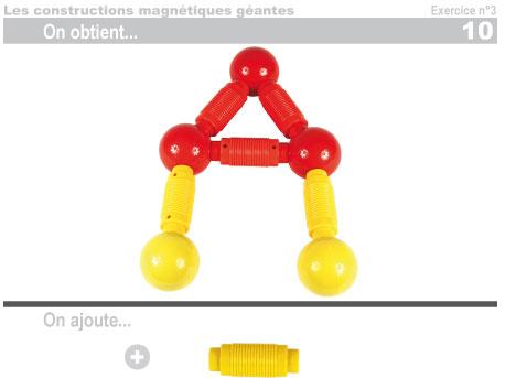 Les constructions magnétiques géantes - Exercice 3 - 11