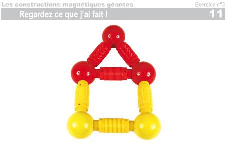 Les constructions magnétiques géantes - Exercice 3 - 12