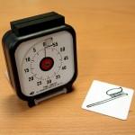 Etape 5 : fixer le support sur le Time Timer