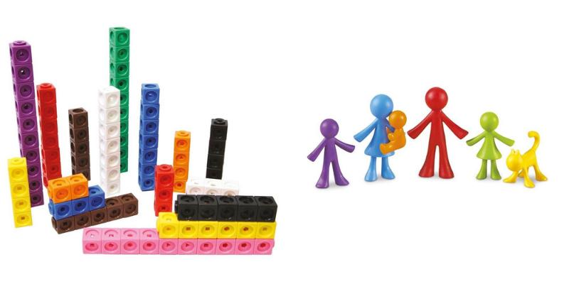 Cubes Mathlink et compteurs famille