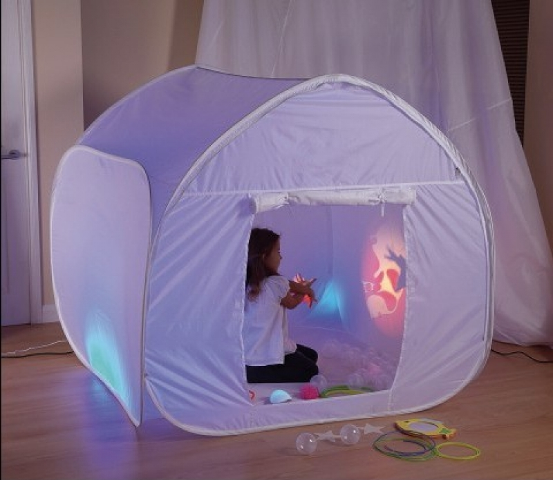 Créer une cabane sensorielle