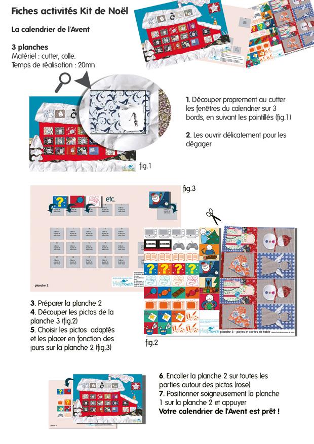 Kit Faire Soi Même Calendrier De L Avent Pictures to pin on Pinterest