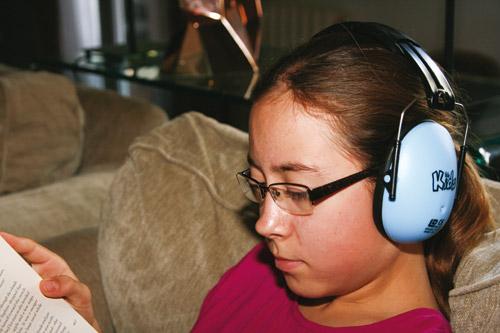 s'auto-réguler - casque anti-bruit