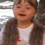 portrait de Livia - Trisomie 21