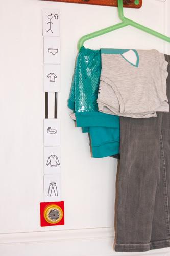 séquences et routines pour l'habillage
