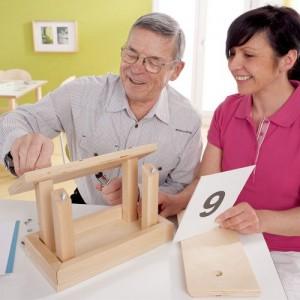 jeu de construction - méthode Montessori