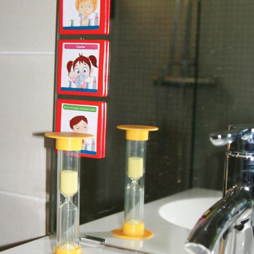 séquences et routines pour la toilette