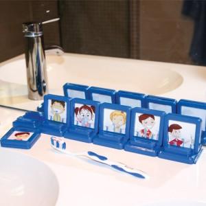 séquences et routines pour se laver les dents