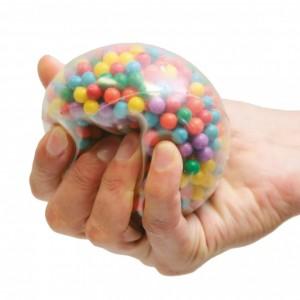 fidget-balle-billes-multicolores