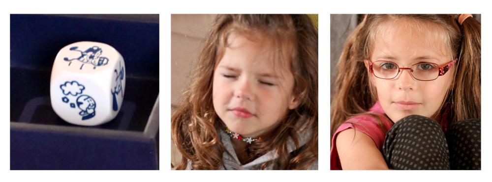 Enfants qui réfléchissent à leurs histoires