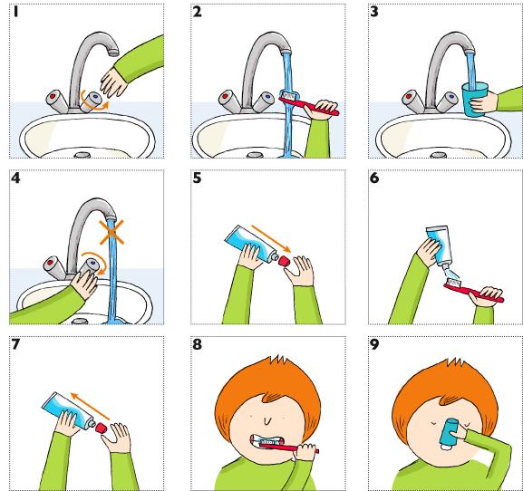 Préférence L'aider à se brosser les dents JC78