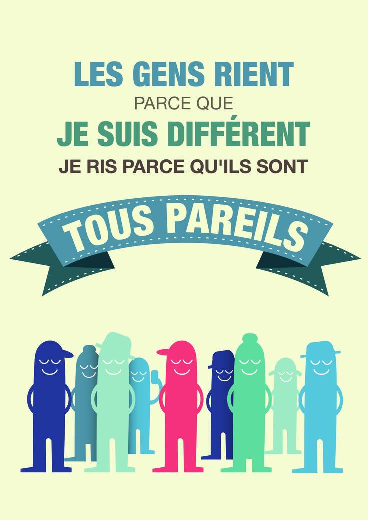 Poster - sensibilisation à la différence - Hop'Toys
