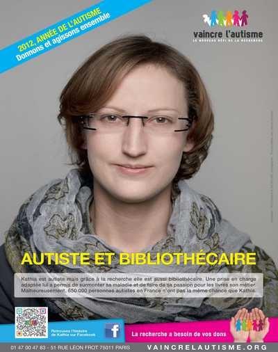 Campagne sensibilisation Vaincre l'autisme
