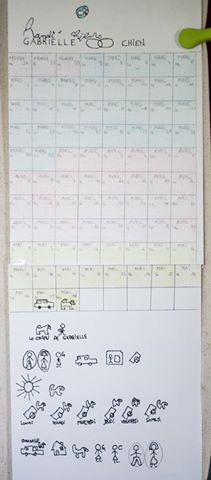 calendrier makaton chiens d'éveil
